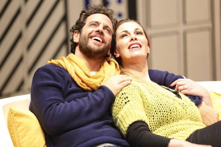 Mi piaci perchè sei così con Vanessa Incontrada e Gabriele Pignotta al Teatro Manzoni di Milano